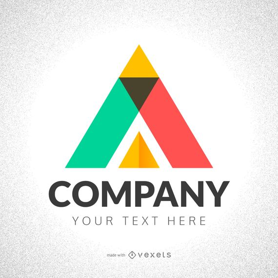 Logo template maker featuring lots of colorful polygonal and geometric logo and shape alternatives to choose from, as well as backgrounds. Texts are editable online before downloading. This design is perfect for any business!