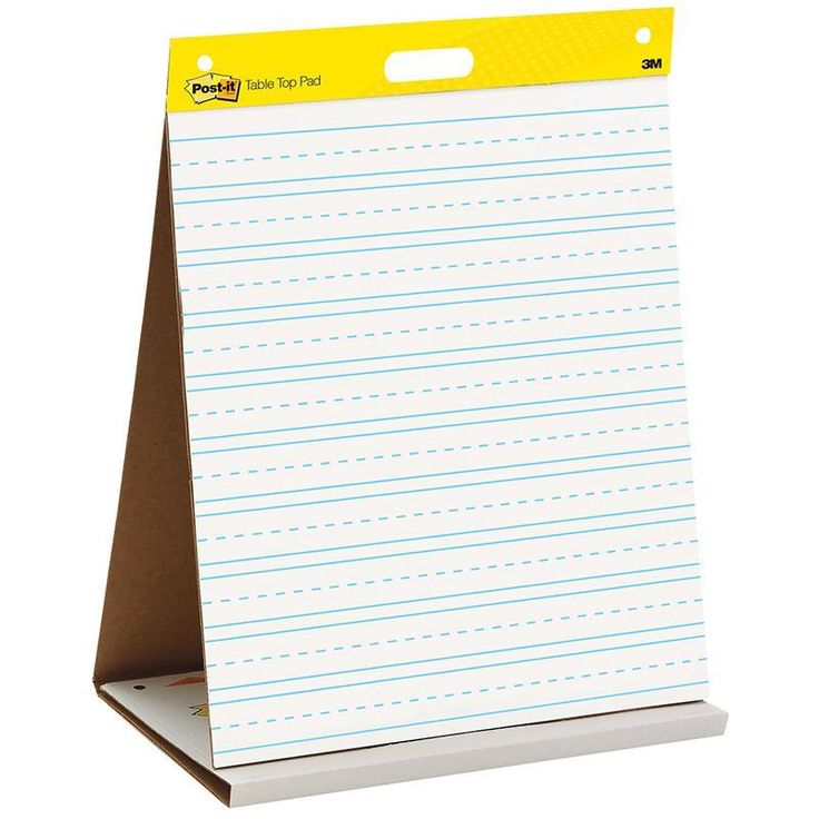 Post It Tabletop Self Stick Easel