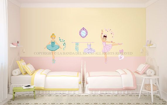 Wall decals kids Wall decals girls Wall stickers  Baby nursery