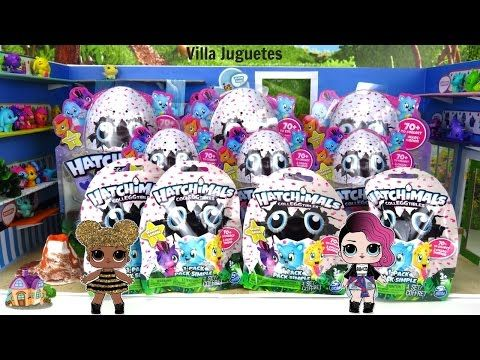 (972) Tienda, Paquetes y Bolsas Sorpresas de Hatchimals Colleggtibles en Español - YouTube