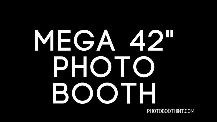 https://photoboothint.com/mega-42-photo-booth/ Specs Made Of Lightweight Aluminum 42″ Multi-Touch ELO Touch Screen 68 inches in height 20 inches in width 5 i...