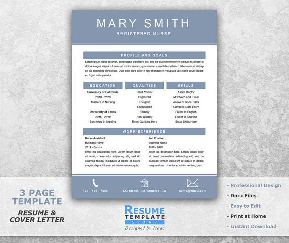 76 best interview images on Pinterest Job interviews, Resume - nursing resume template word