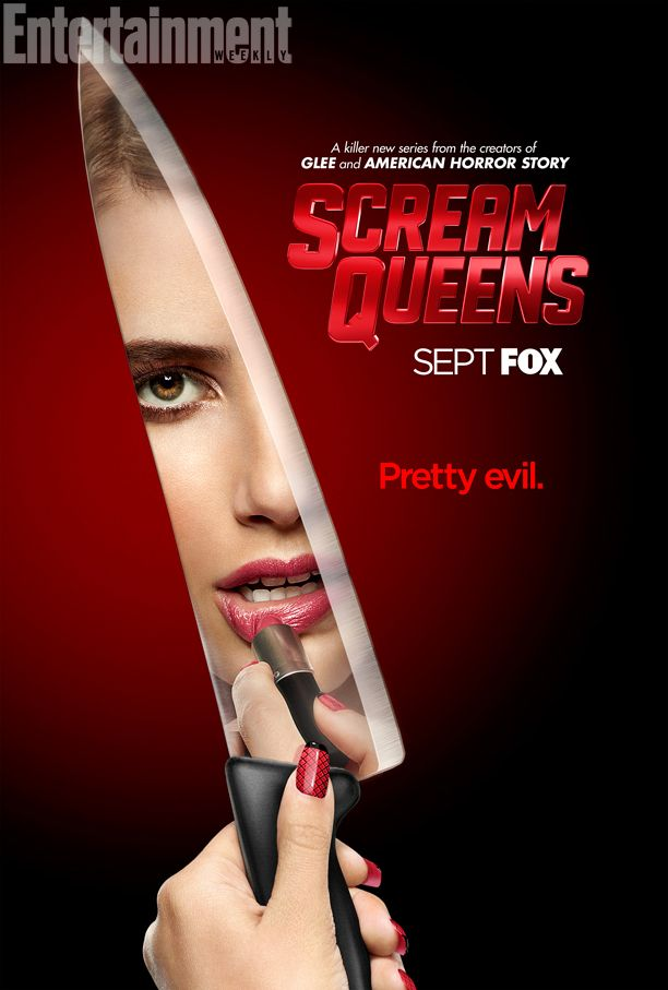 Scream Queens poster. via: http://www.ew.com/