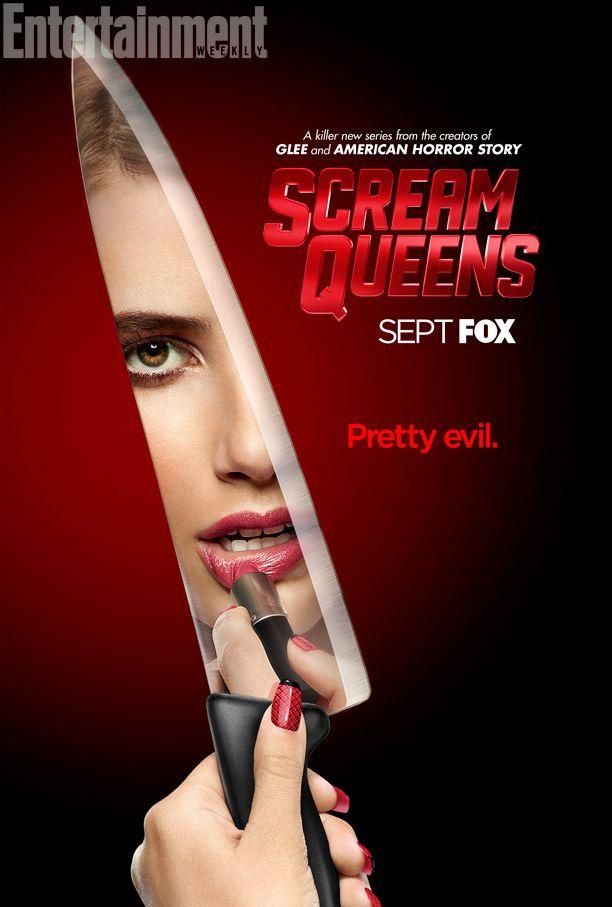 Scream Queens poster. via: http://www.ew.com/