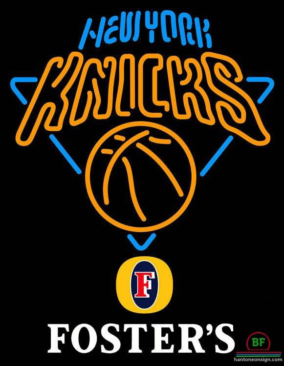 Fosters New York Knicks Neon Sign NBA Teams Neon Light
