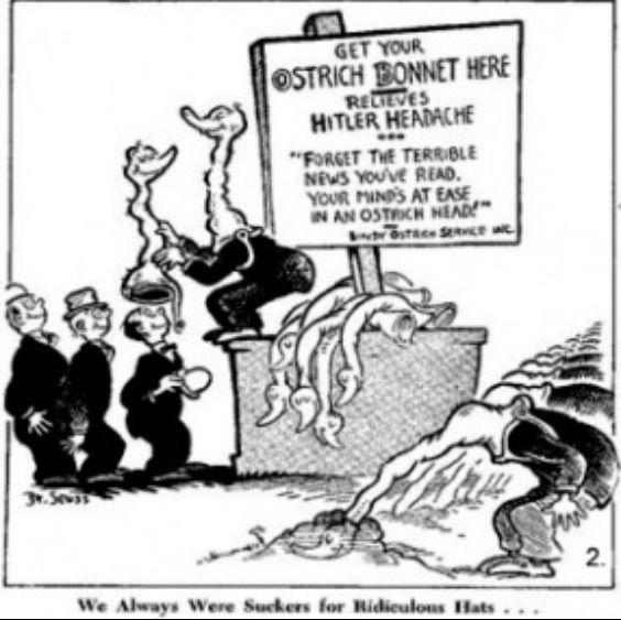 When Dr. Seuss Went to War