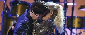 Surprise! Meghan Trainor and Charlie Puth Passionately Made Out at the AMAs