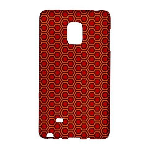 Shining Orange Carpet Samsung Galaxy Note EDGE Case Wrap Around
