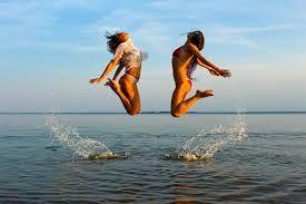 propuesta salto dos modelos para short y bikini