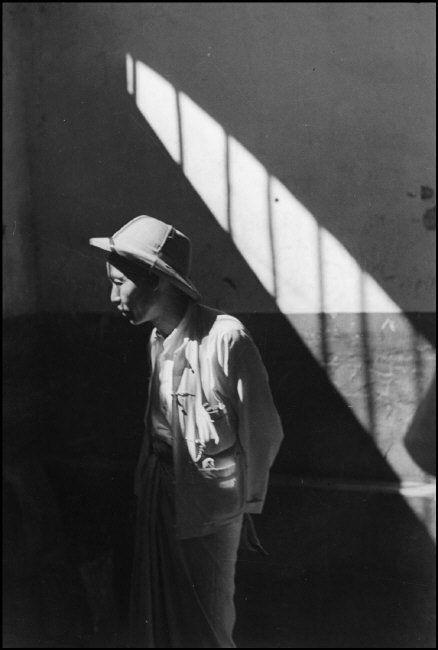 Henri Cartier-Bresson -- Prisoner, Rangoon, Burma (now Yangon, Myanmar), 1948