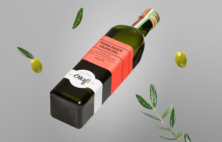 Packaging for Olaf Olive Oil designed by Anagrama - BP&O