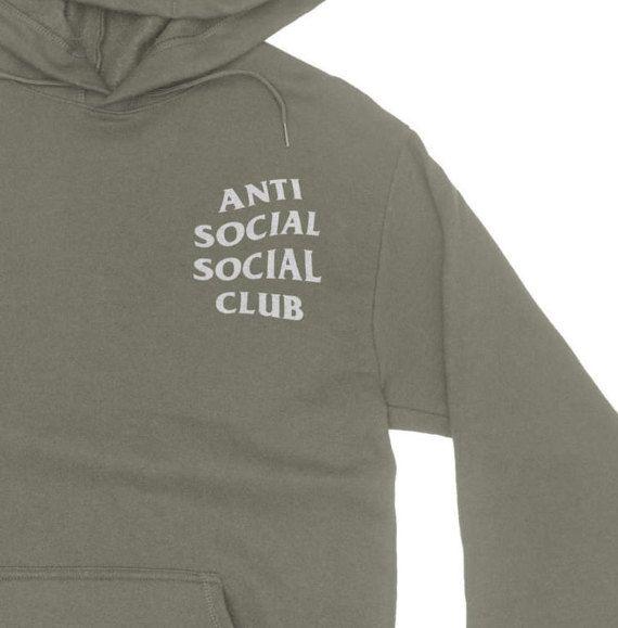 Anti Social Social Club Hoodie - Anti Social Club Sweatshirt - Kanye West Hoodie - assc - yeezy hoodie - Yeezus Hoodie - Yeezus #SocialSocialClub #Hoodies