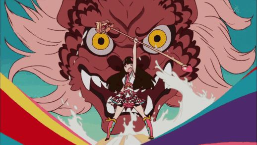 Japanese girlsband Momoiro Clover Z animated by Sushio (Kill la Kill character-designer & animation director).