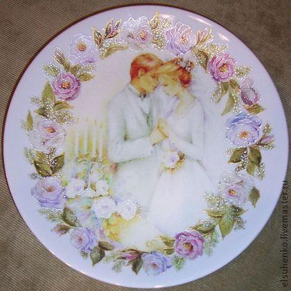 свадебная тарелка картинки