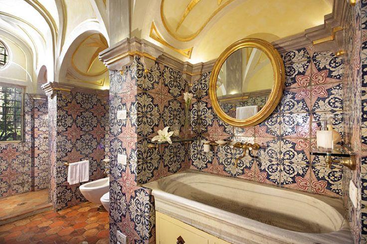 Palazzo Santa Croce in Positano, Italy - ELLEDecor.com