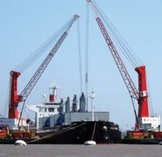Mobile Harbour Crane