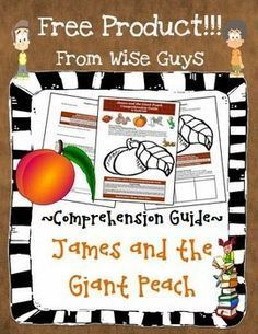 FREE Resource Friday: James and The Giant Peach Reading Guide! This is a must have for your classroom. Teacher tested and kid approved!