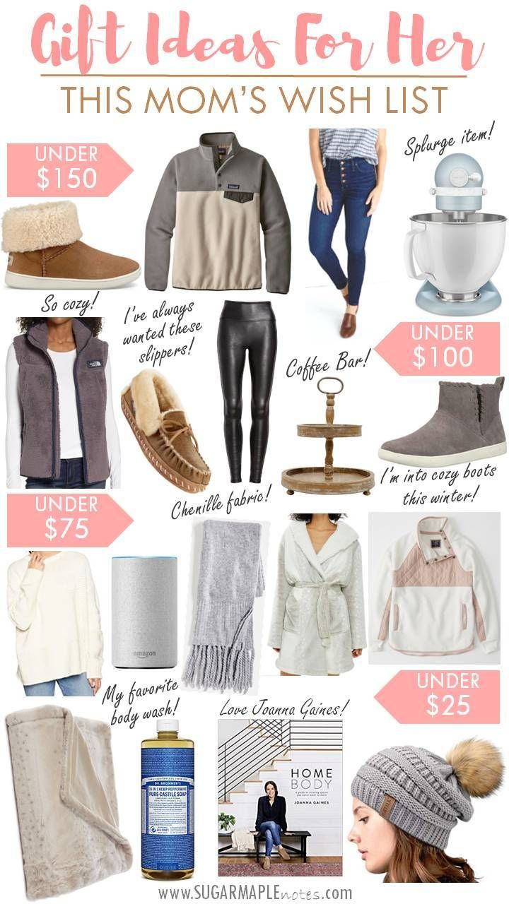 Christmas Gifts 2019 For Her.Gift Ideas For Her My Wish List Christmas Gifts 2019