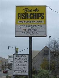 Bronte Fish & Chips, Ontario, Oakville