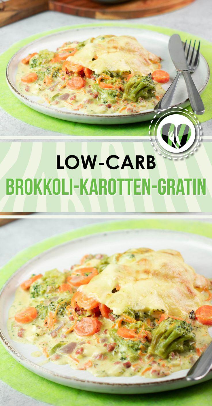Broccoli e carota gratin