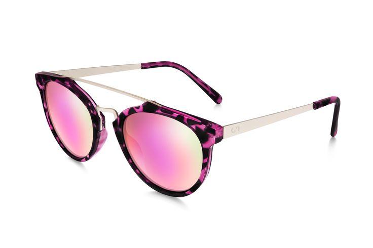 Occhiali da sole polarizzati: SELFIE/HAVANA PINK  di Slash Sunglasses http://www.slashsunglasses.com/shop/selfie/selfie-tartaruga-rosa-rosa.html