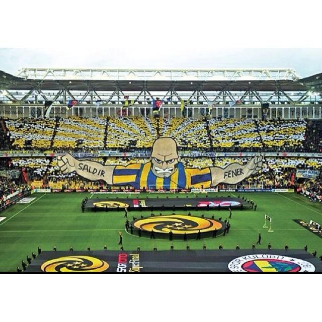 Fenerbahçe Şükrü Şaracoğlu Stadı, Kadıköy (Asya Yakası) İstanbul
