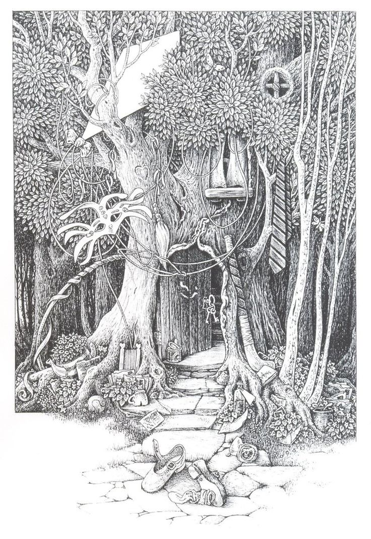 Coloring pages for adults tree - Find This Pin And More On Adult Coloring Pages Grayscale