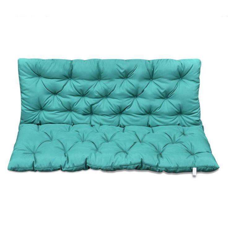 Kussen voor schommelstoel 120 cm (groen)