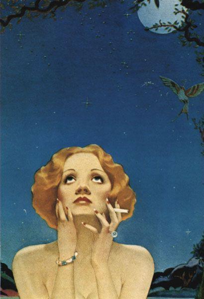 Alberto Vargas - Marlene Dietrich