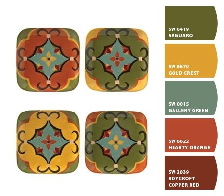 tuscan colors from Chip It! by Sherwin-Williams LOVE> LOVE LOVE
