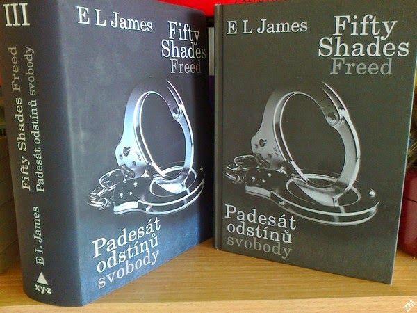 Padesát odstínů svobody (orig. Fifty Shades Freed) - E. L. James