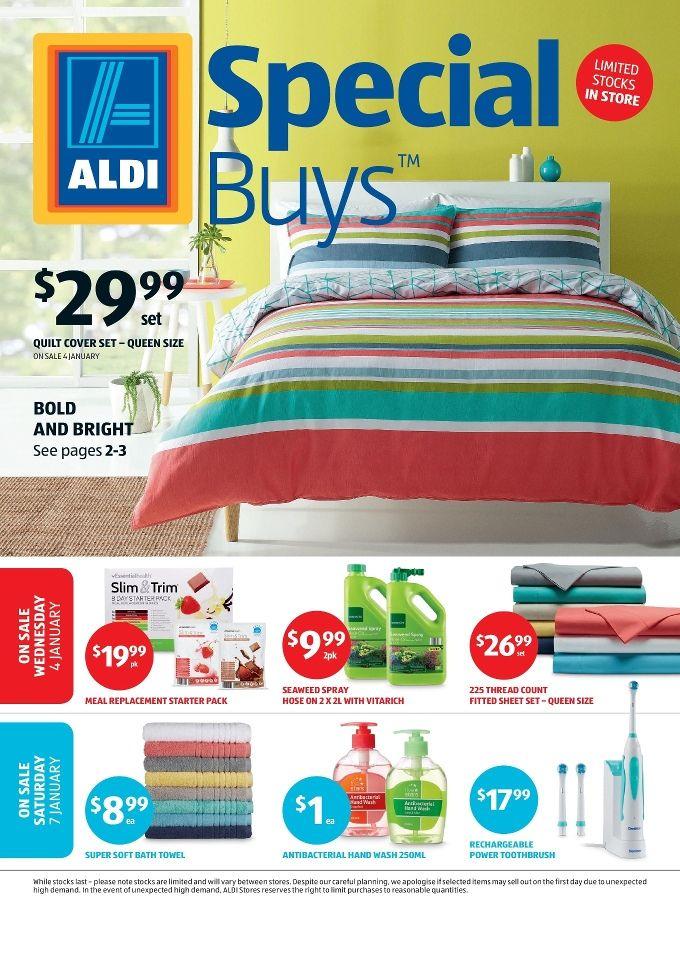 Aldi Catalogue Specials Week 1, 4 - 10 January 2017 - http://olcatalogue.com/aldi/aldi-catalogue-specials.html
