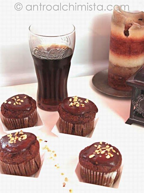 Muffins alla Coca Cola - Coca Cola Muffins