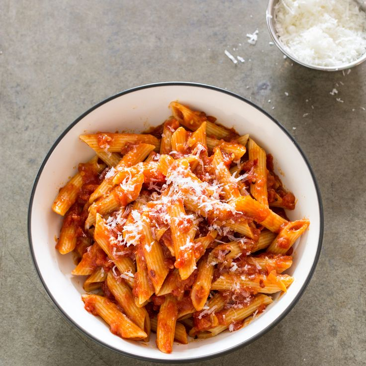 ATK Penne Arrabbiata - What's the trick to making this classic Italian sauce spicy but balanced? More chiles.