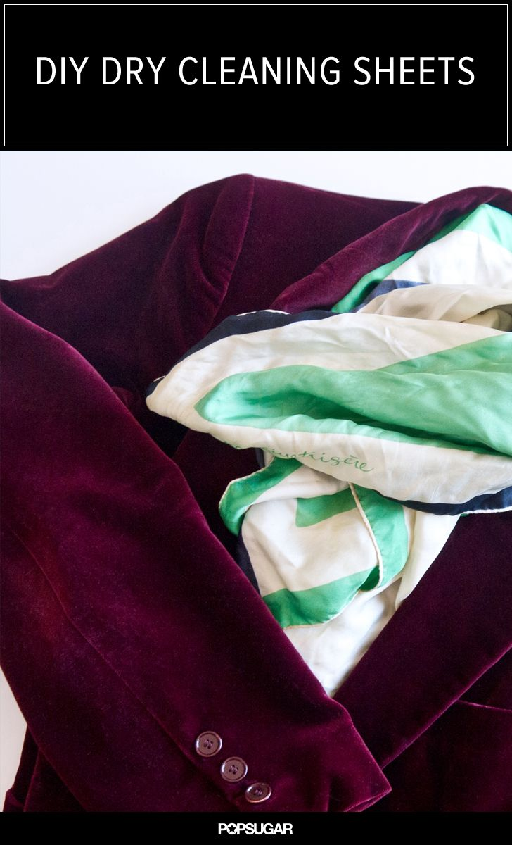 Save Money With This At-Home Dry Cleaning Hack