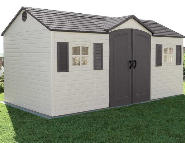 25 best ideas about storage sheds for sale on pinterest for Used metal garden sheds for sale