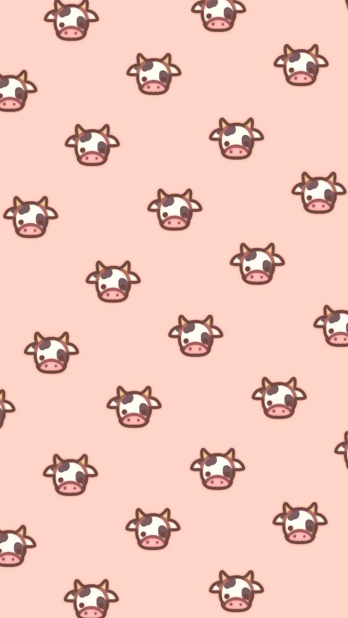 cow wallpapers in 2020 cow wallpaper kawaii wallpaper