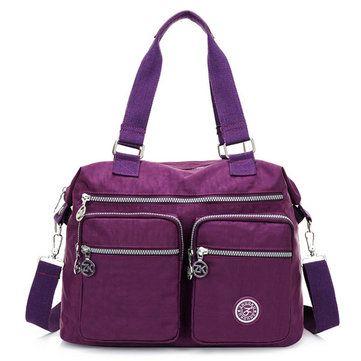 Women Nylon Hot Sale Crossbody Bag Handbag Bag Dual-use Tote Bag