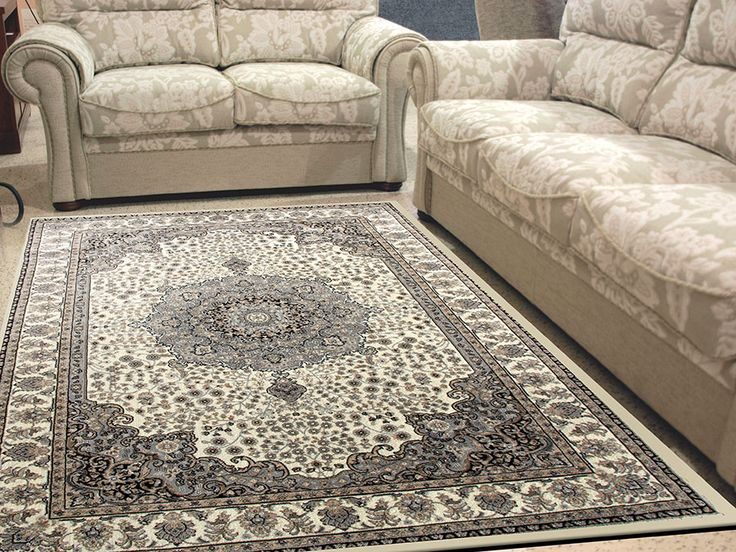 Alfombra tayro 8582 sualsa alfombra suave de pelo corto for Alfombras estilo persa