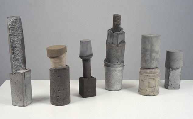 Ruth Hardinger. Concrete sculptures