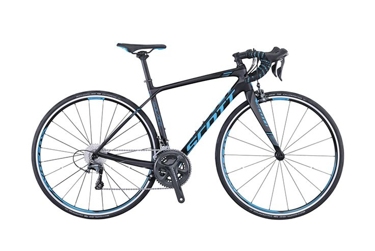 Scott Contessa Solace 15 http://www.bicycling.com/bikes-gear/newbikemo/2016-buyers-guide-best-womens-road-bikes/slide/4