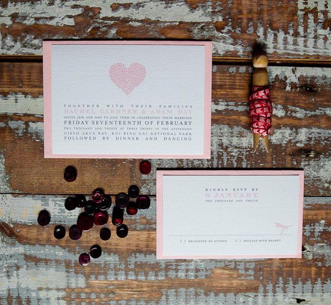 Classic wedding invitations. The Paper Mint || thepapermint.com.au