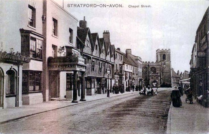 Chapel Street, Stratford-On-Avon. #postcards