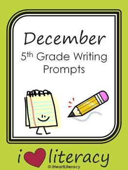 Fifth Grade Writing Activities