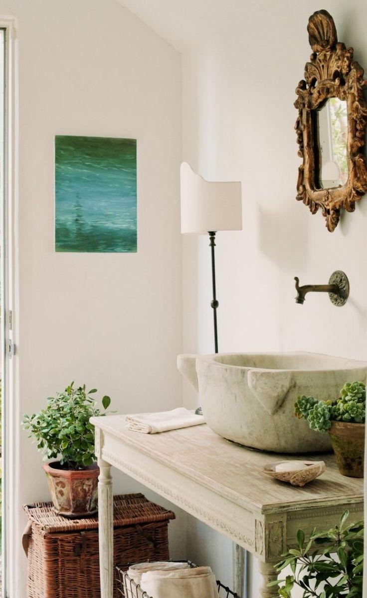 Les 25 meilleures id es concernant salles de bains romantiques sur pinterest salle de bain - Decoratie de charme chic ...
