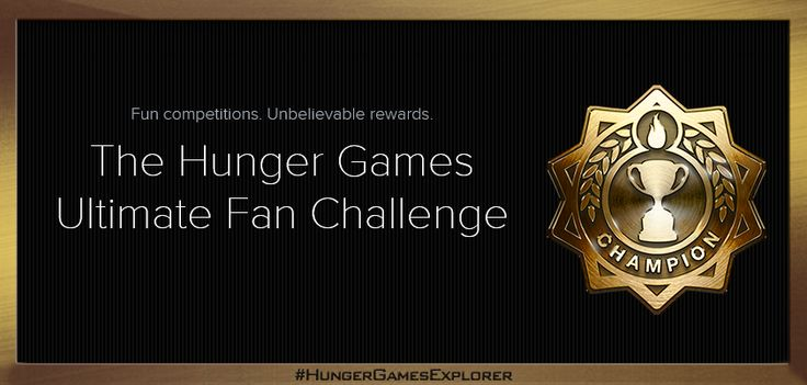 Prove you're #TheHungerGames' Ultimate Fan & WIN exclusive prizes on The #HungerGamesExplorer! Click the pic for details to enter!