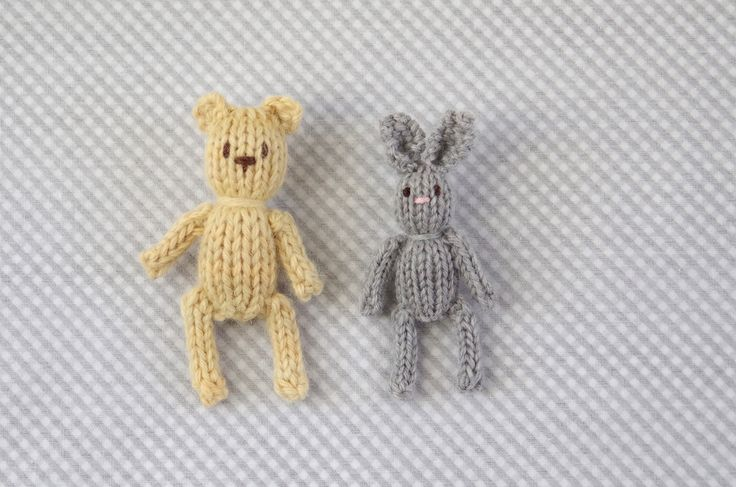 Ravelry: Teeny Tiny Knitted Toys by Julie Williams