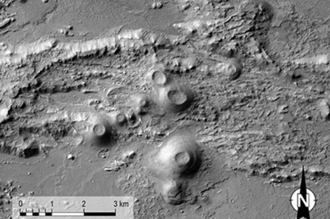 Volcanic Eruptions Rocked Mars' Huge Canyon Valles Marineris, Study Finds
