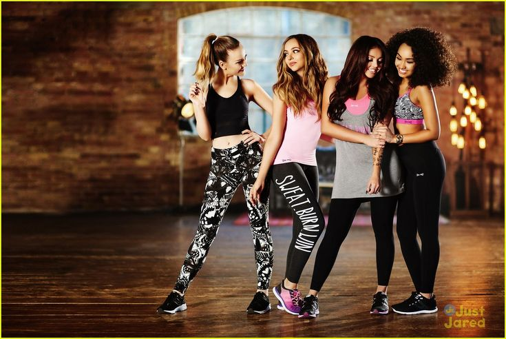 Little Mix Want To Have A Fashion Line In The Future: Photo #909350. Little Mix show off their sporty style as the new ambassadors for USA Pro in these campaign pics. The ladies -- Perrie Edwards, Jade Thirlwall, Leigh-Anne Pinnock,…