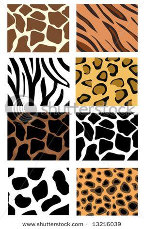 Animals print clothing